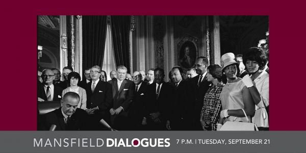 Mansfield Dialogues, Tuesday September 21st at 7pm