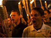 white supremastic protest