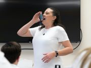 Demonstrating inhalers