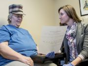 Student counseling older patient
