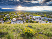 image of campus from Mt. Sentinel
