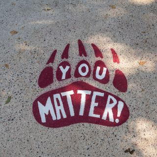 "Pawsitive Print ""You Matter"""
