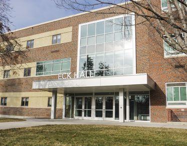 Eck Hall Liberal Arts Building