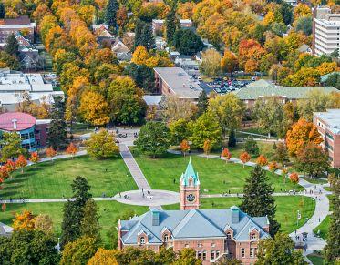 The University of Montana Oval