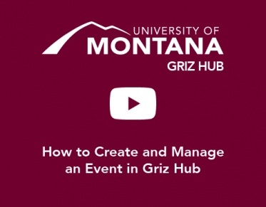 How to Create and Manage an Event in Griz Hub