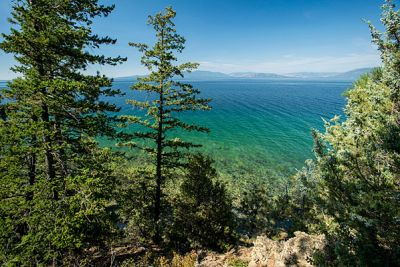 An image of Flathead Lake