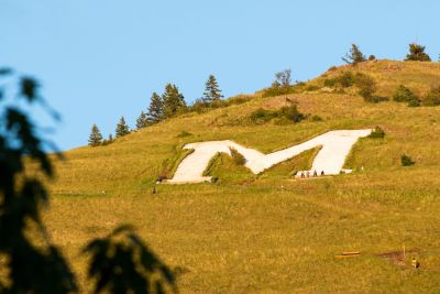 The M on Mount Sentinel