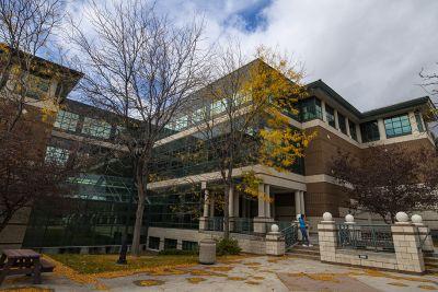 Photo of UM Business School building