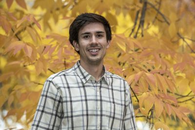 Photo of graduate student who won DOE award