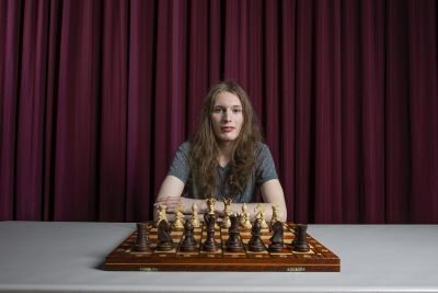 Photo of chess champion Dorje McPherron