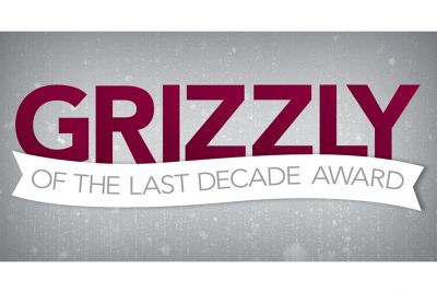 The Grizzly of the Last Decade Awards logo