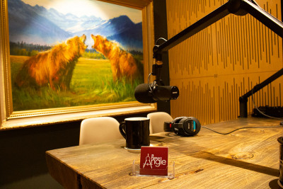 A picture of the A New Angle studio