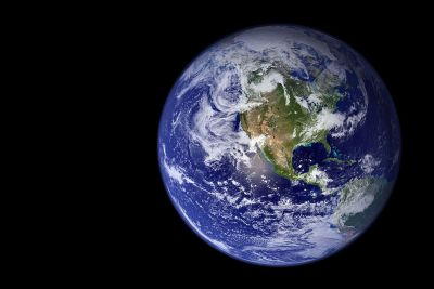 A picture of the Earth
