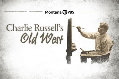 """the logo for """"Charlie Russell's Old West"""""""