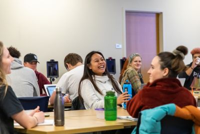 A counselor education class at the University of Montana.