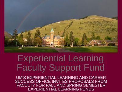 Experiential Learning Faculty Support Fund