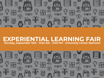 Attend the Experiential Learning Fair