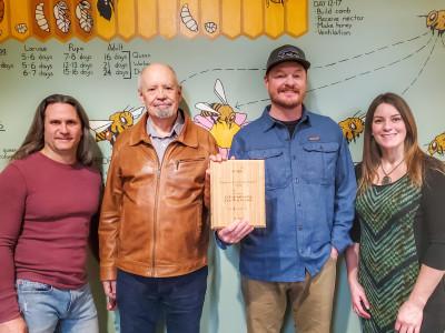 UPCEA recognizes Online Beekeeping Certificate Program at Regional Conference.