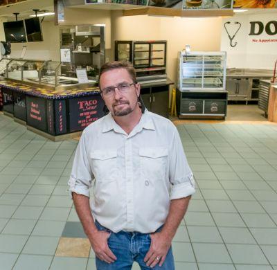 Ray Merseal Food Court Employee