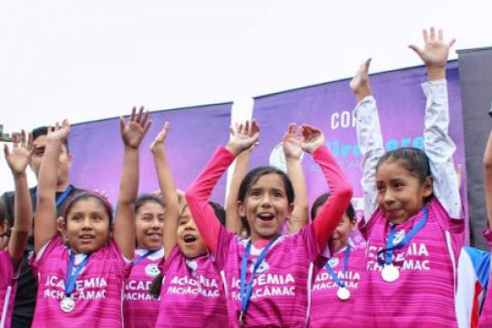 """""""Using Sport to Advance Gender Equality, How Soccer is Challenging the Status Quo in the U.S. & Peru"""" featuring U.S. Department of State Deputy Assistant Secretary Susan Crystal, MT Attorney General Tim Fox, and Sports Diplomacy Peruvian Delegates"""
