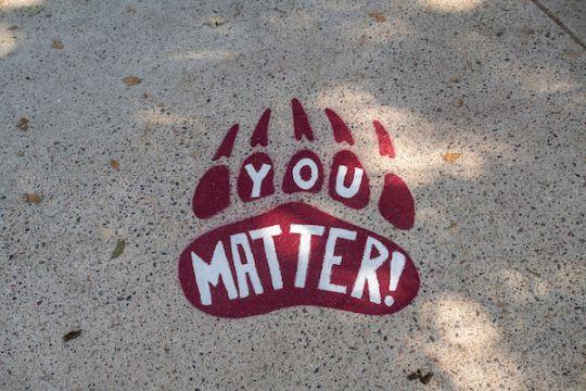"Pawsitive Print ""You Matter"""