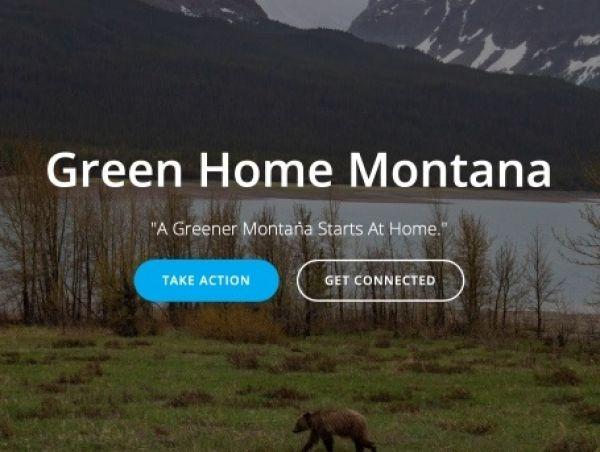 Green Home Montana website image