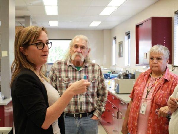 Group of elderly patients at Precision Medicine lab