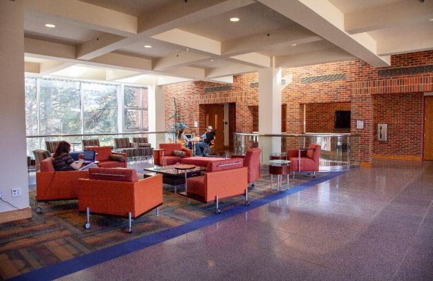 Interior of the Phyllis J. Washington Education Center