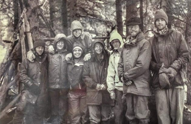 Students in Wilderness & Civ in the '90s