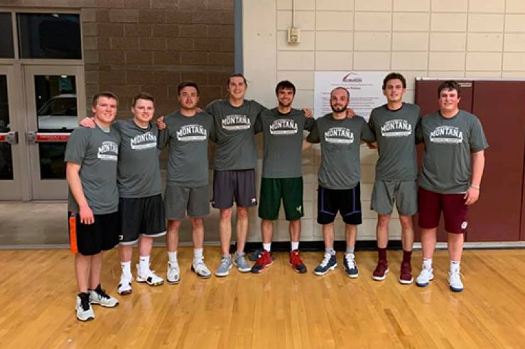 Congratulations to our Men's B Basketball Champions: Water!