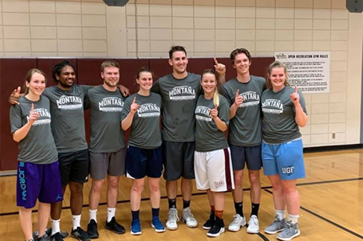 Congrats to Traumatic Blain Injury for winning the Corec Basketball Championship!