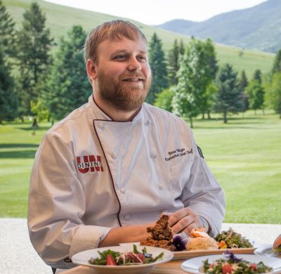 Jesse Mayer Iron Griz Chef