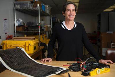 UM geosciences Professor Rebecca Bendick