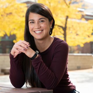 Image of Alberta smiling, ready to talk about Missoula College? Contact her!